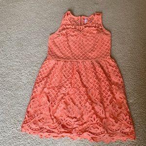 Orange/Coral Xhileration Dress